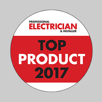 Electrician Top Product 2017 Award Logo